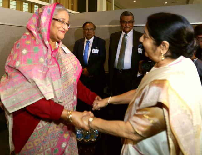 EAM Sushma Swaraj to attend UNGA meets Ivanka Trump Bangladesh PM Sheikh Hasina and other world leaders
