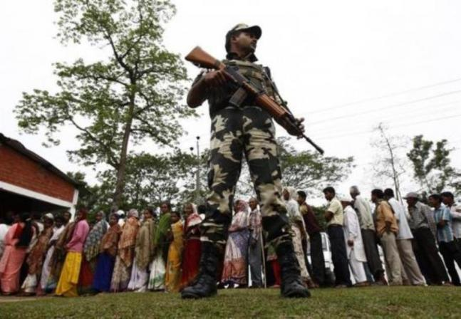 Voting in Assam and Tripura