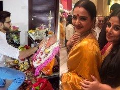 From Hrithik Roshan to Rekha Here is how Bollywood celebs celebrated Ganesh Chaturhi