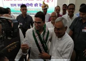 Prashant Kishor joins Nitish Kumar's JD-U
