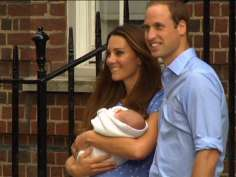 World sees the royal baby